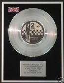 "THE SPECIAL AKA ( SPECIALS)  7"" Platinum Disc GANGSTERS"